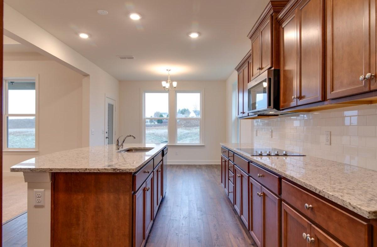 McKinley quick move-in open concept kitchen