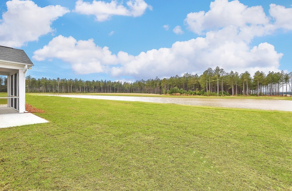 Hickory quick move-in pond homesite