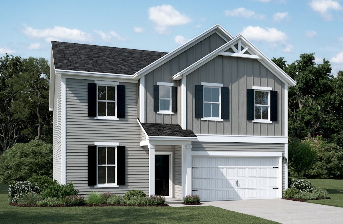 Cleveland Home Plan in Hunt Club, Pooler, GA | Beazer Homes