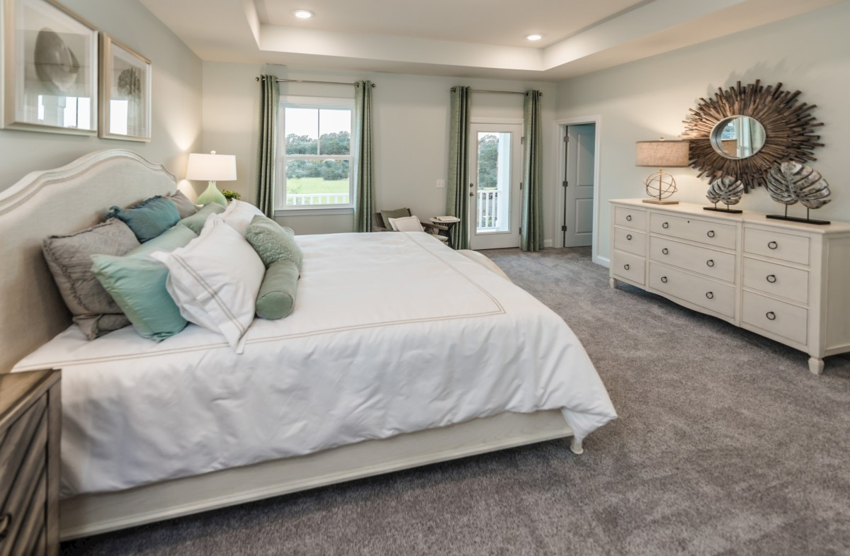 The Marshes at Cooper River Palmetto spacious master bedroom