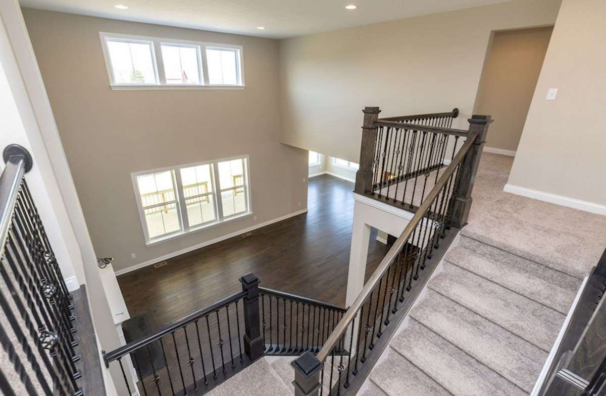 Keystone quick move-in Stunning two-story great room