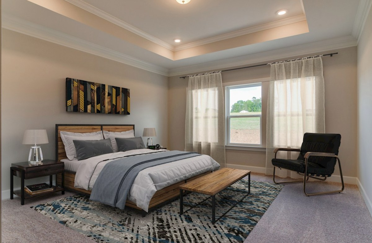 Herrington Oxford II welcoming master bedroom
