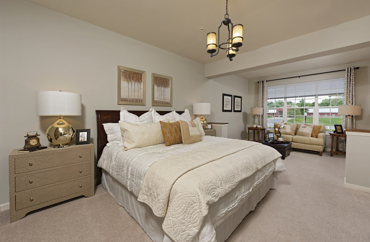 Gatherings® at Quarry Place Aspen with Study Seperate sitting area in the master bedroom