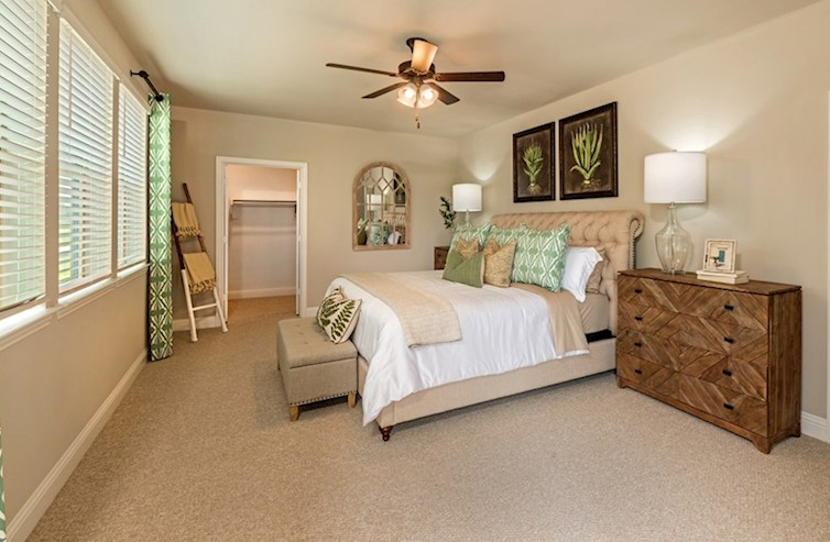 Gatherings® at Indian Lake Wiltshire cozy master bedroom