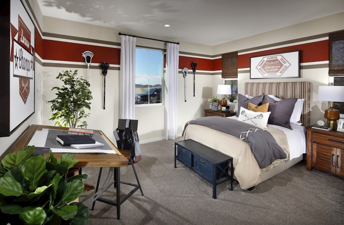 Veranda Azalea Spacious secondary bedrooms are ideal for guests.