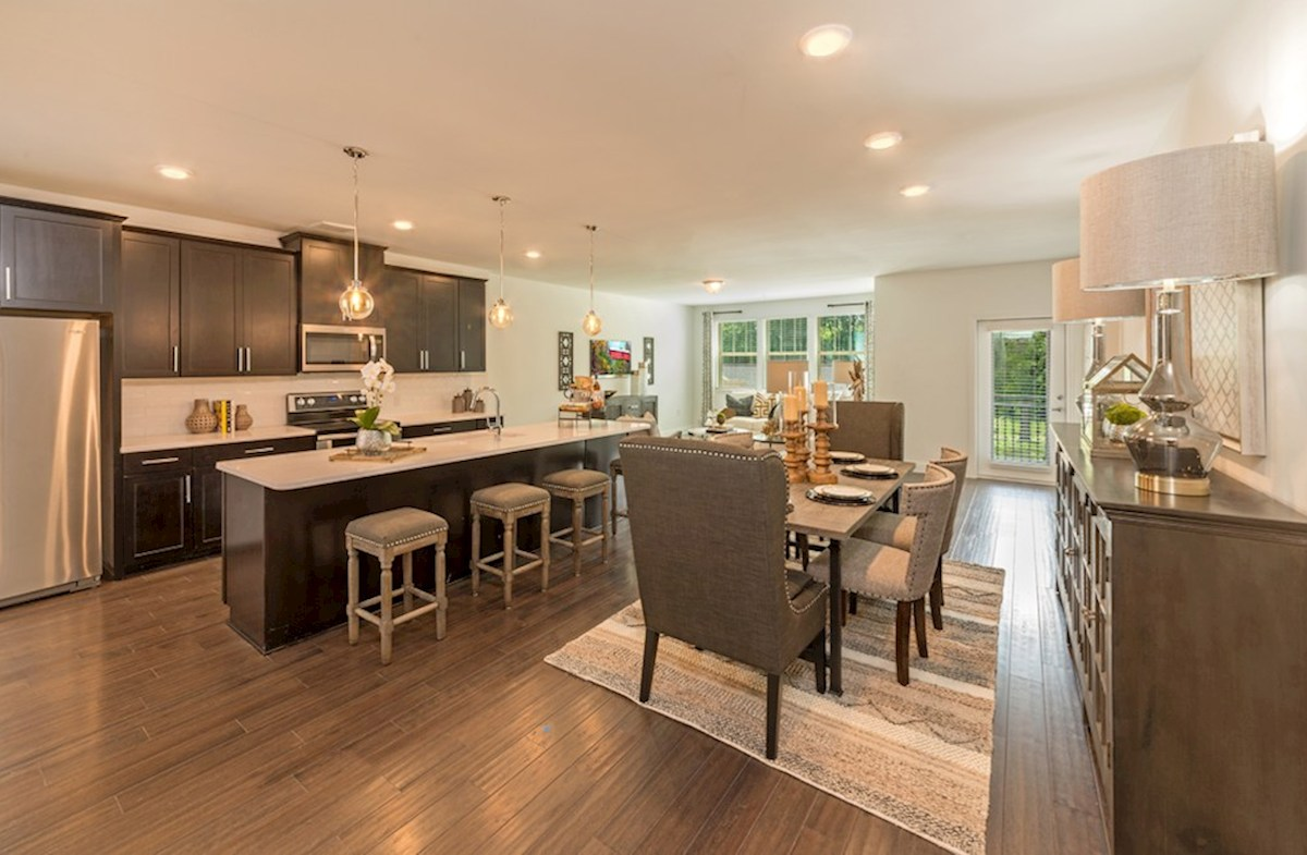 Gatherings® at Mercer Crossing Sherwood Sherwood Kitchen and Great Room