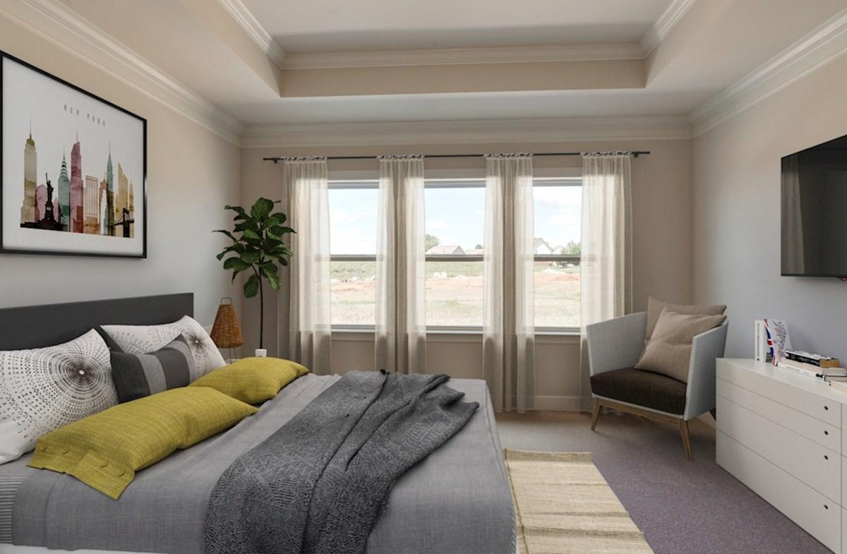 Herrington Oxford II gracious master bedroom