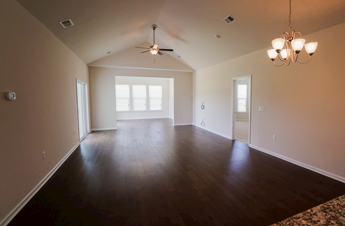Camden quick move-in open and inviting great room