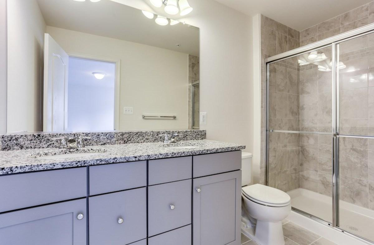 Rockville II quick move-in Rockville II Master Bathroom
