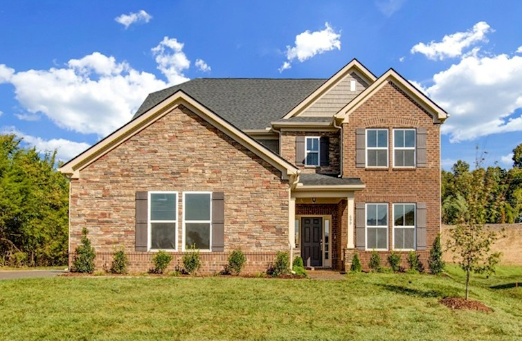 Dogwood Elevation French Country M quick move-in