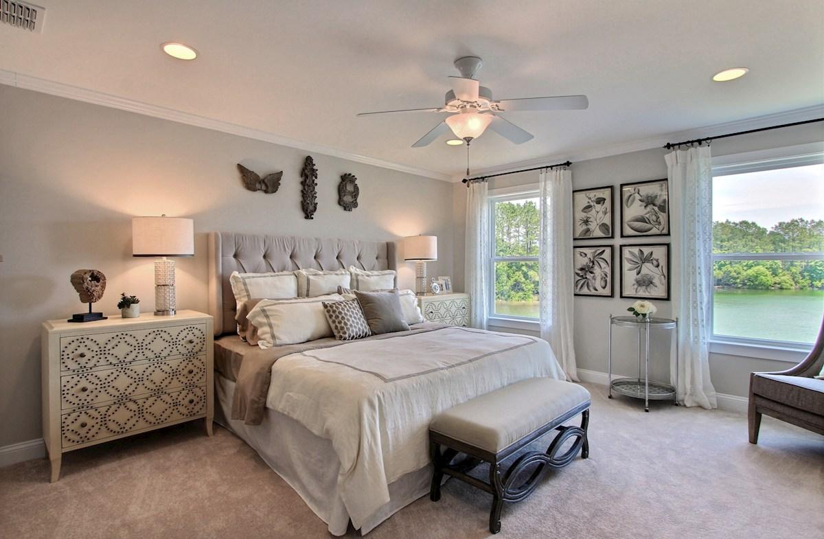 Hunt Club Madison bright master bedroom