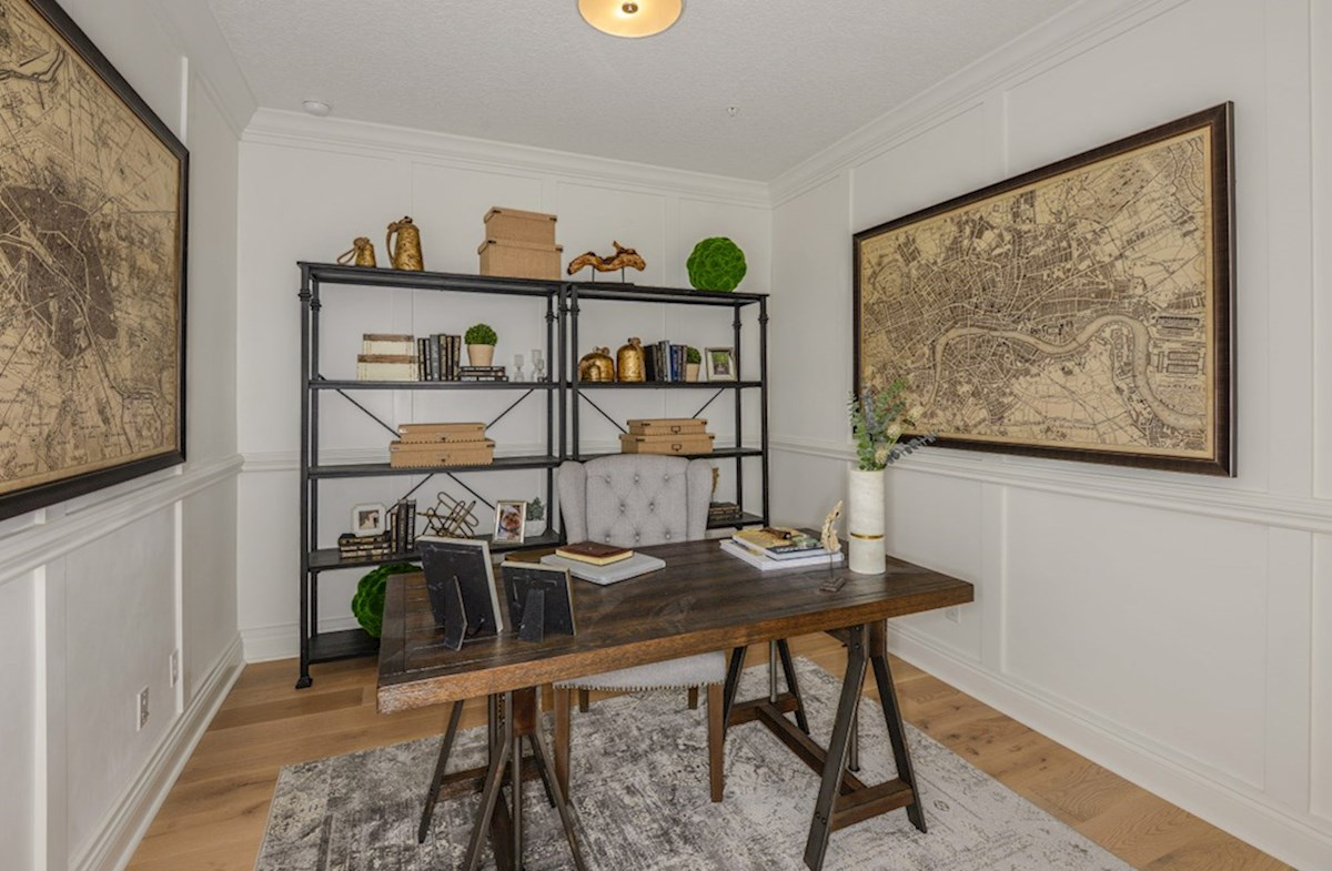 Bradford quick move-in secluded study