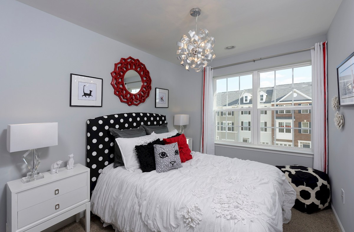 The Preserve at Windlass Run Townhomes  Oakland II  additional third floor bedroom