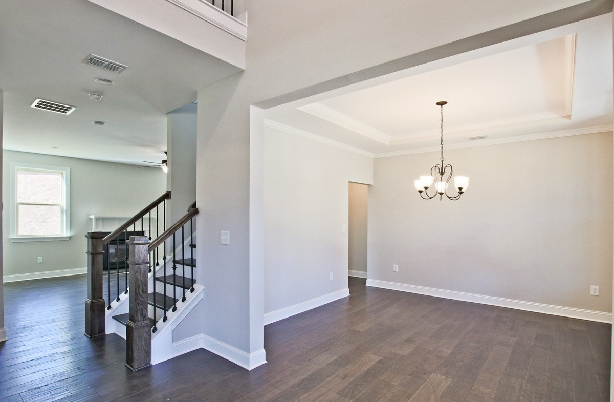 Manchester quick move-in Dining room with tray ceiling