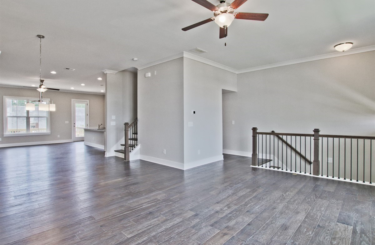 Callahan II quick move-in Living and Dining Room with hardwood floors
