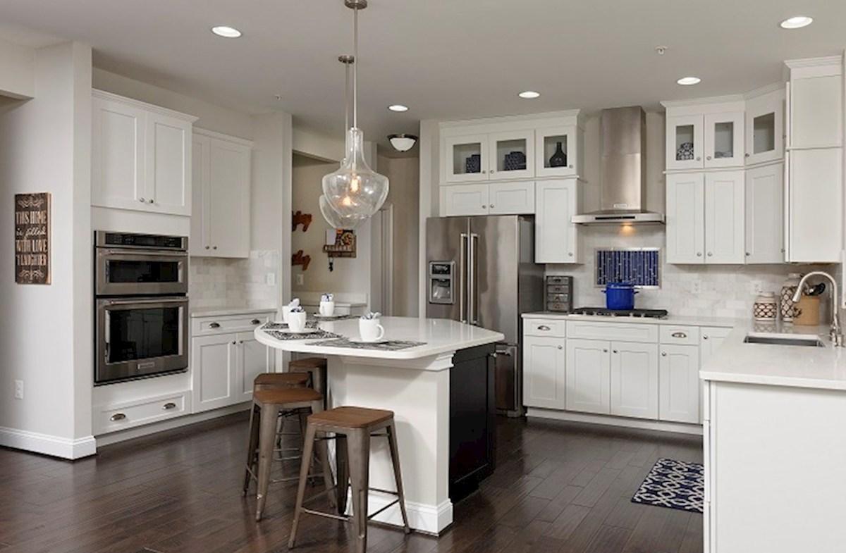 open kitchen in Brookview