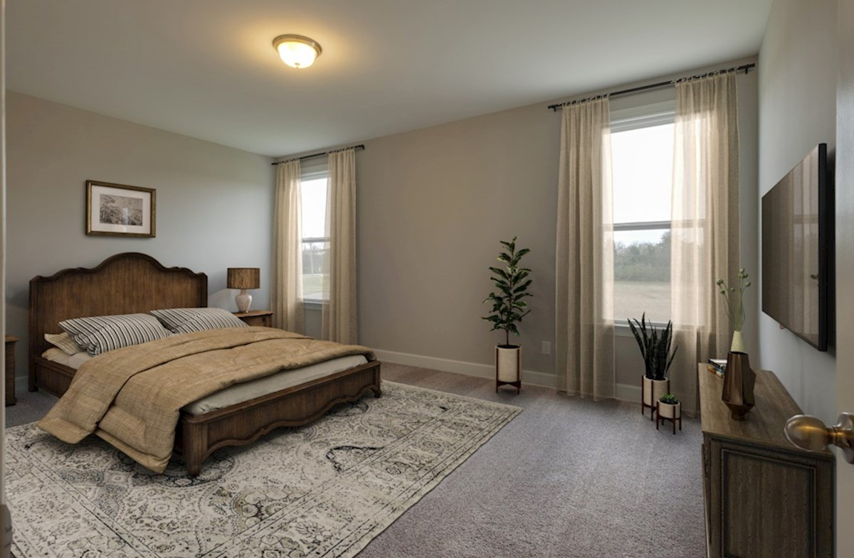 Adelaide quick move-in gracious master bedroom