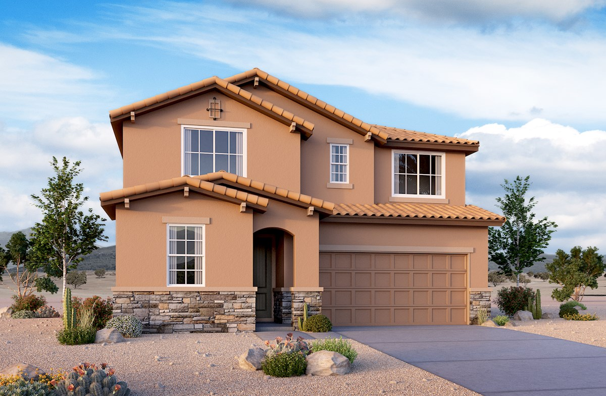 Orion plan has Tuscan exterior