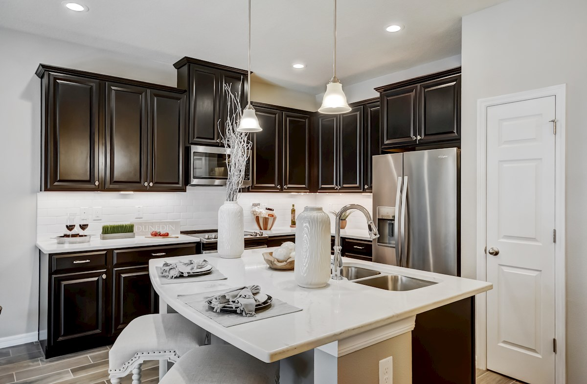 kitchen with spacious countertops