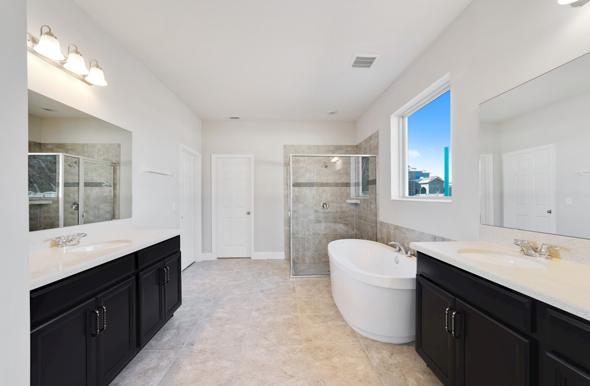 Washington quick move-in luxurious master bath