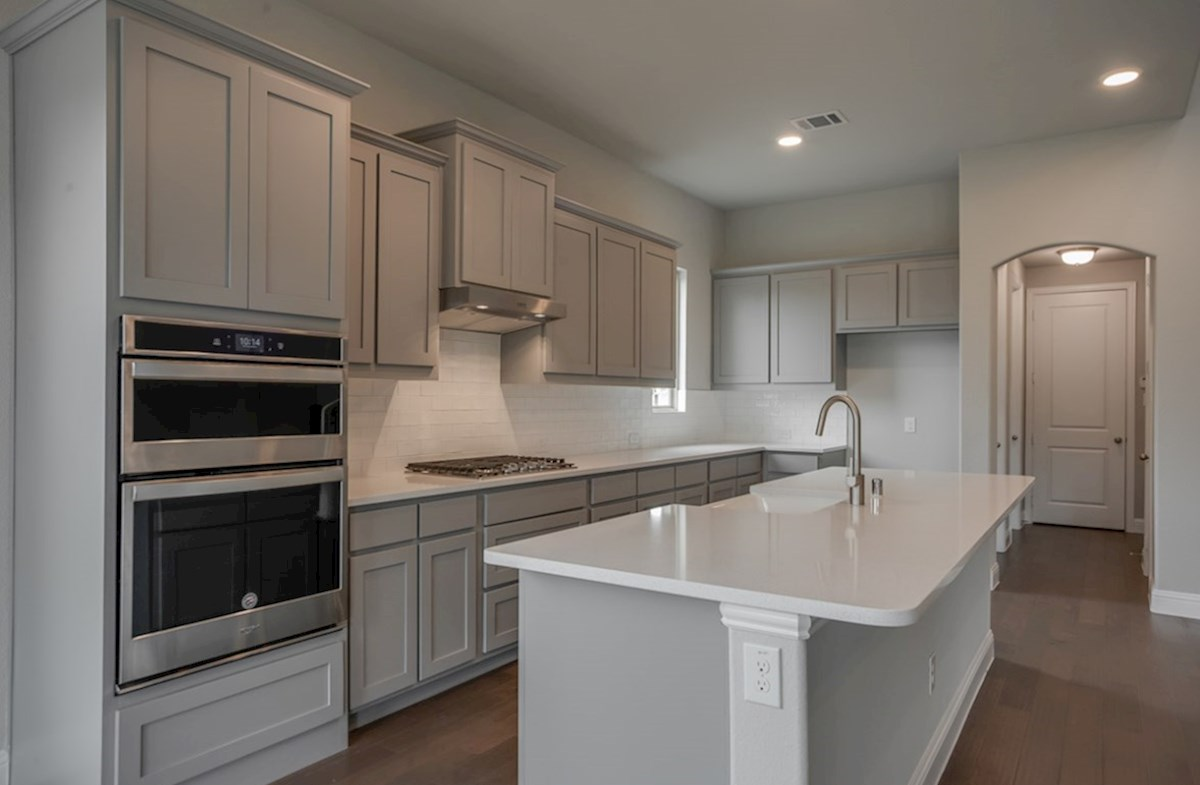 Summerfield quick move-in Summerfield spacious kitchen with large island