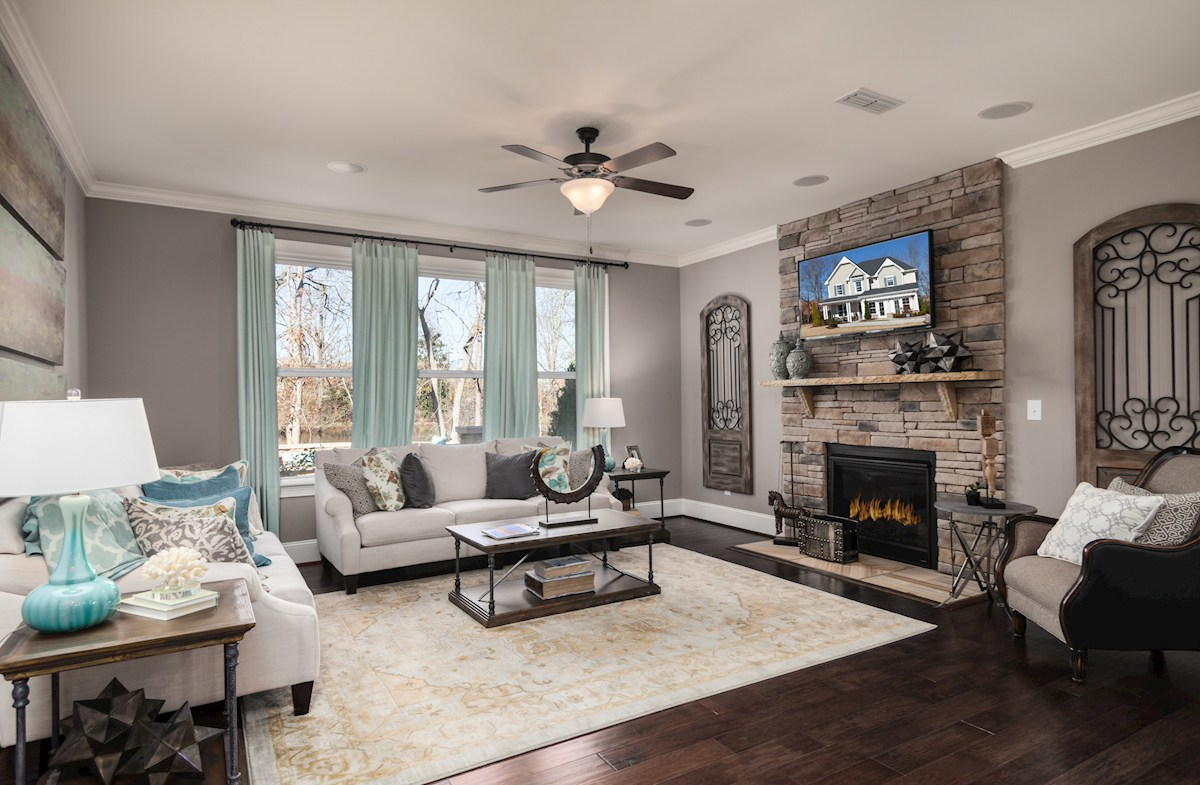 Somerset family room