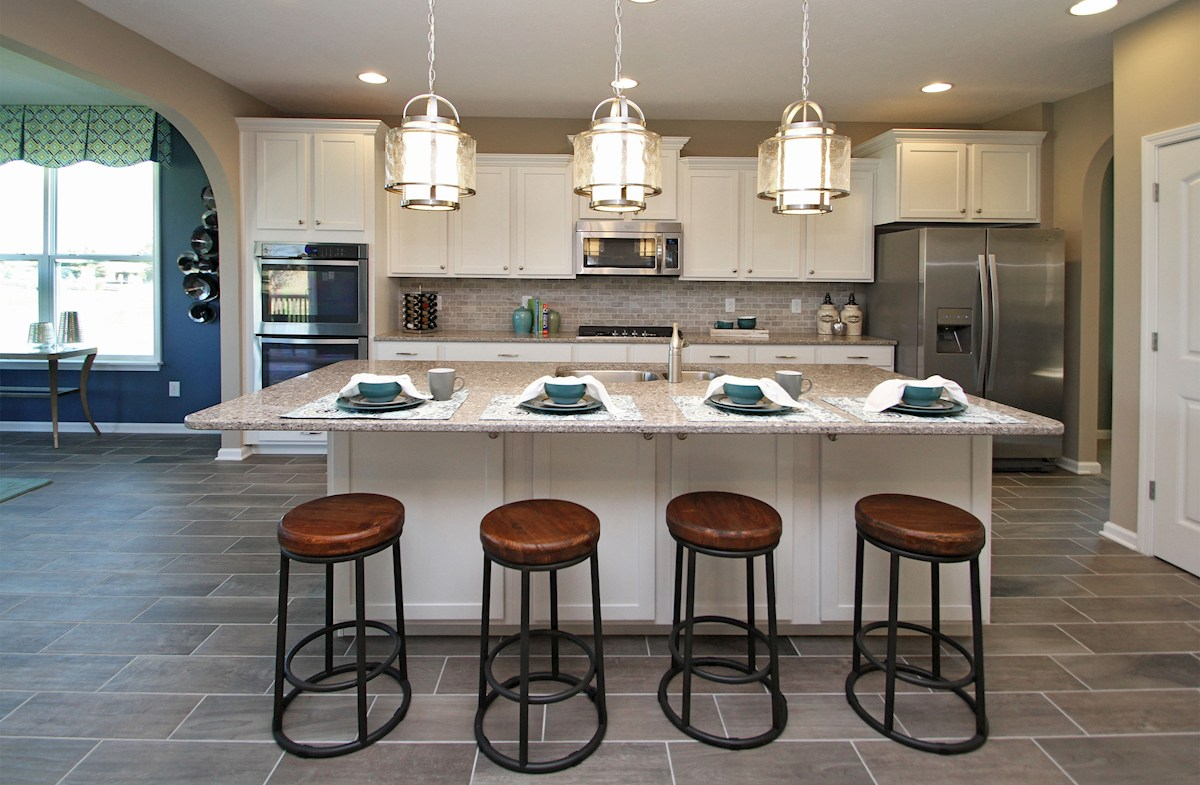 Heritage at Vermillion Jefferson Choose your kitchen with Beazer Choice Plans