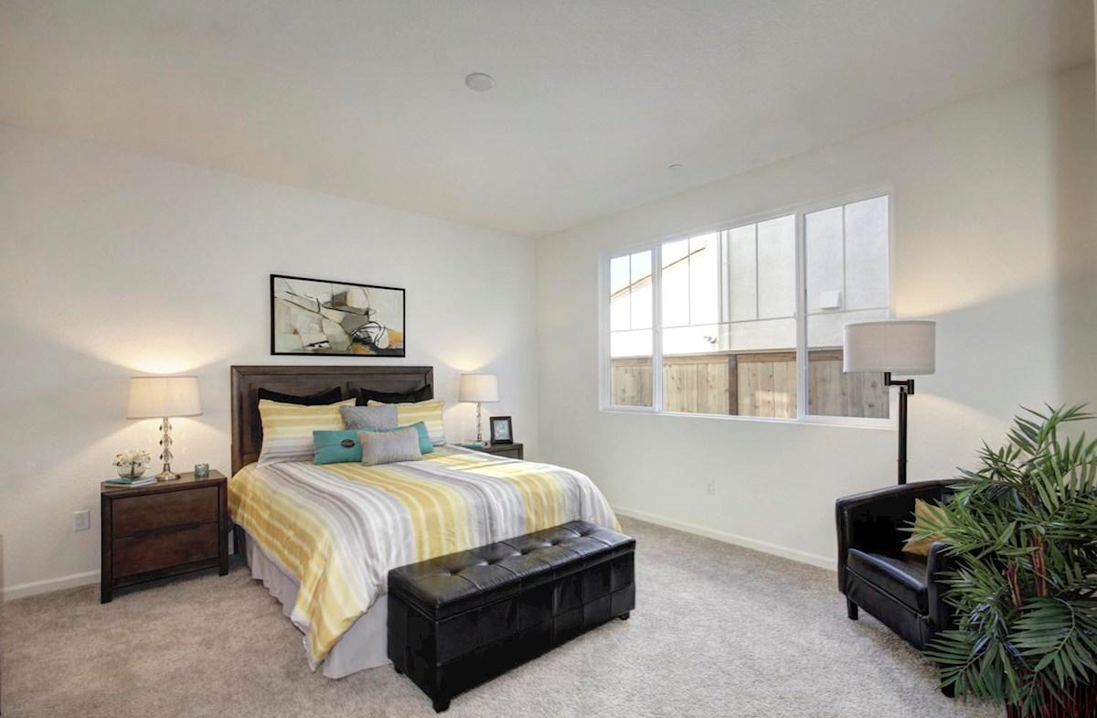 Natomas Field Residence 3 Rancho Cordova, CA new homes Bungalows master bed