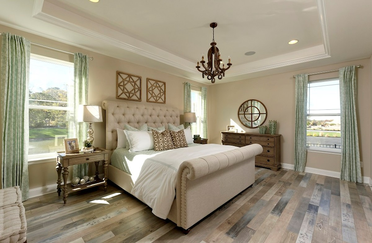 Bishop's Landing Dirickson capacious master bedroom