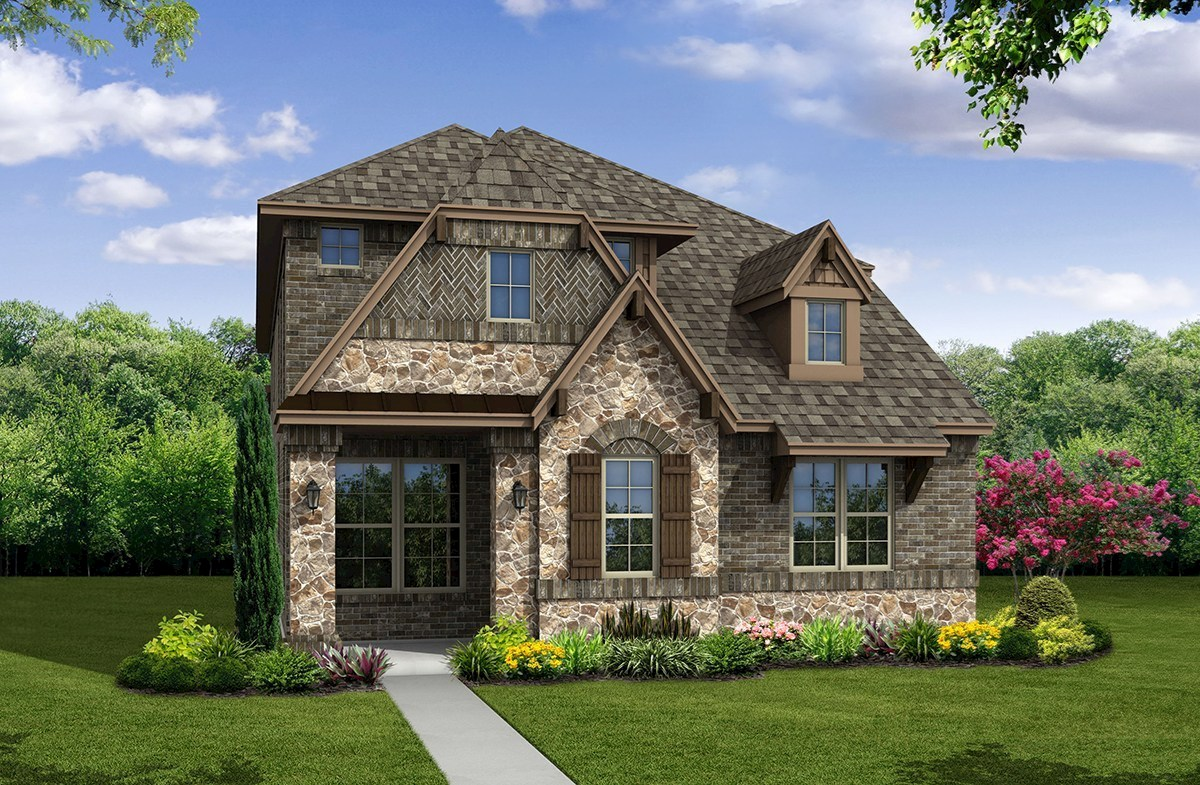Brazos Elevation French Country M