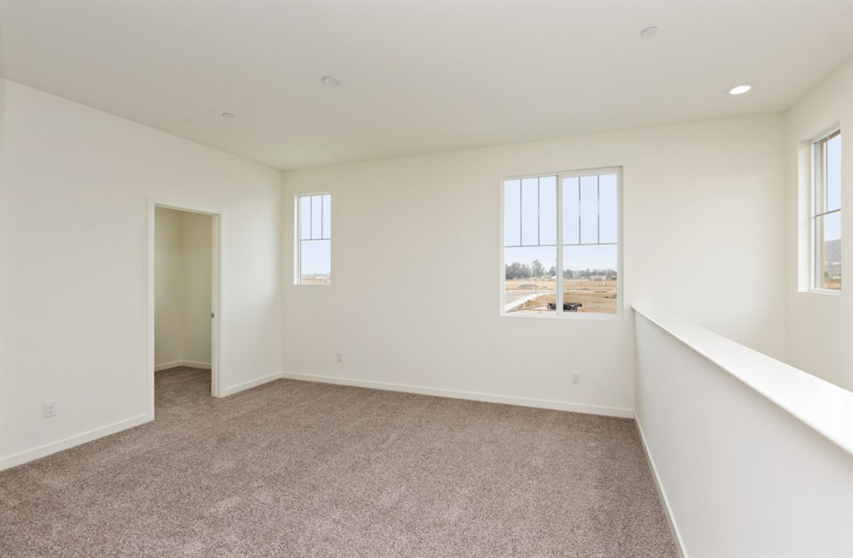 Sonoma quick move-in The loft provides the additional space needed for a desk or study area