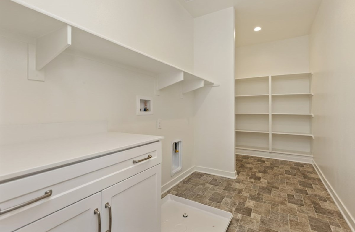 Reserve quick move-in Abundant storage in the convenient upstairs laundry room.