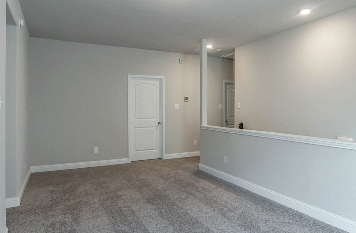 Sycamore quick move-in open loft with carpet floors
