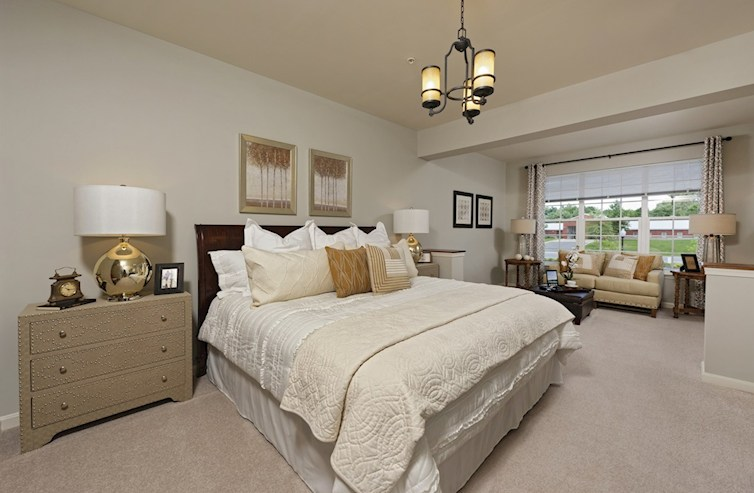 Gatherings® at Quarry Place Aspen Aspen Master Bedroom