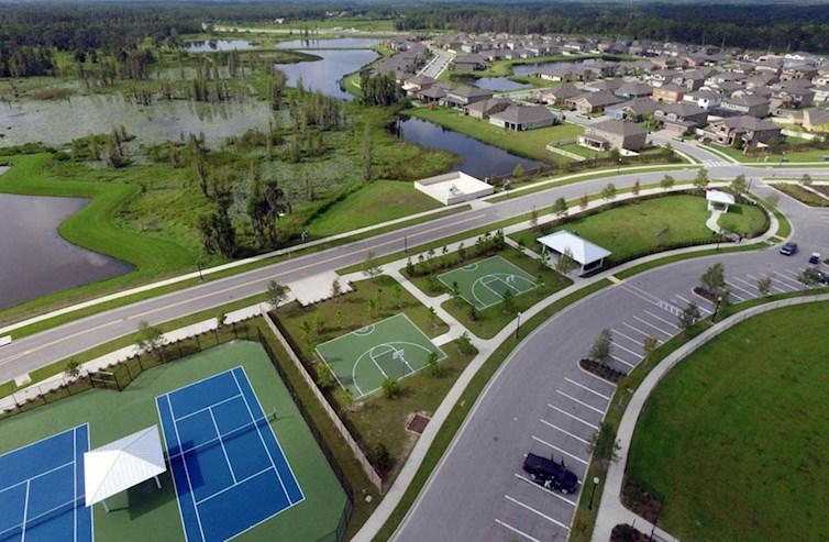 family-friendly community with lots of amenities