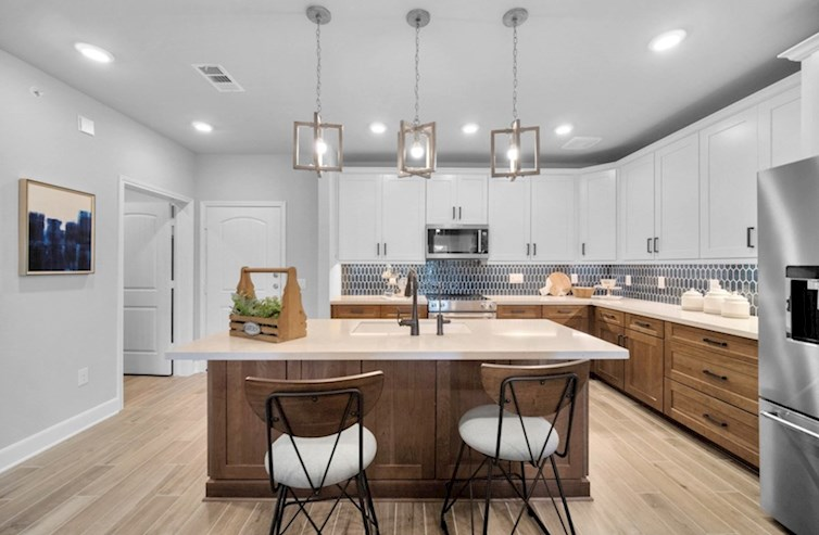 Clifton kitchen with large island and spacious cabinetry