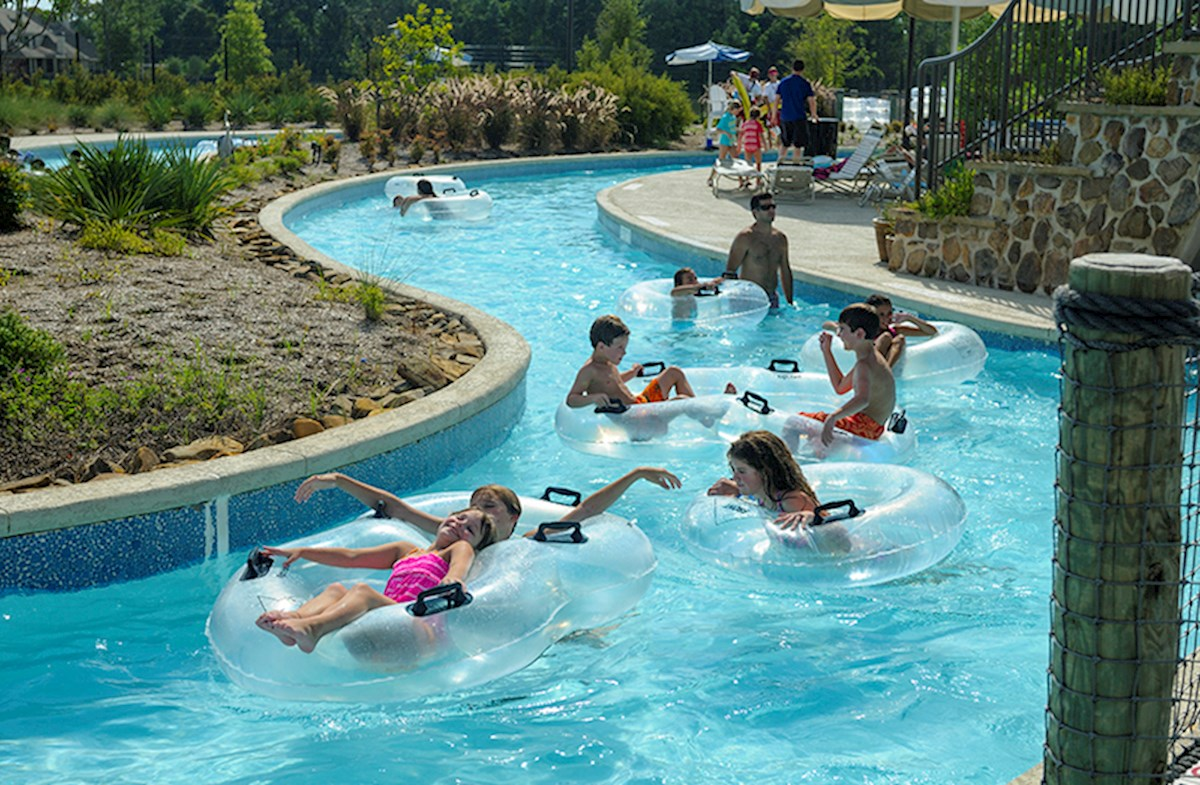 Nearby lazy river provides fun for all ages