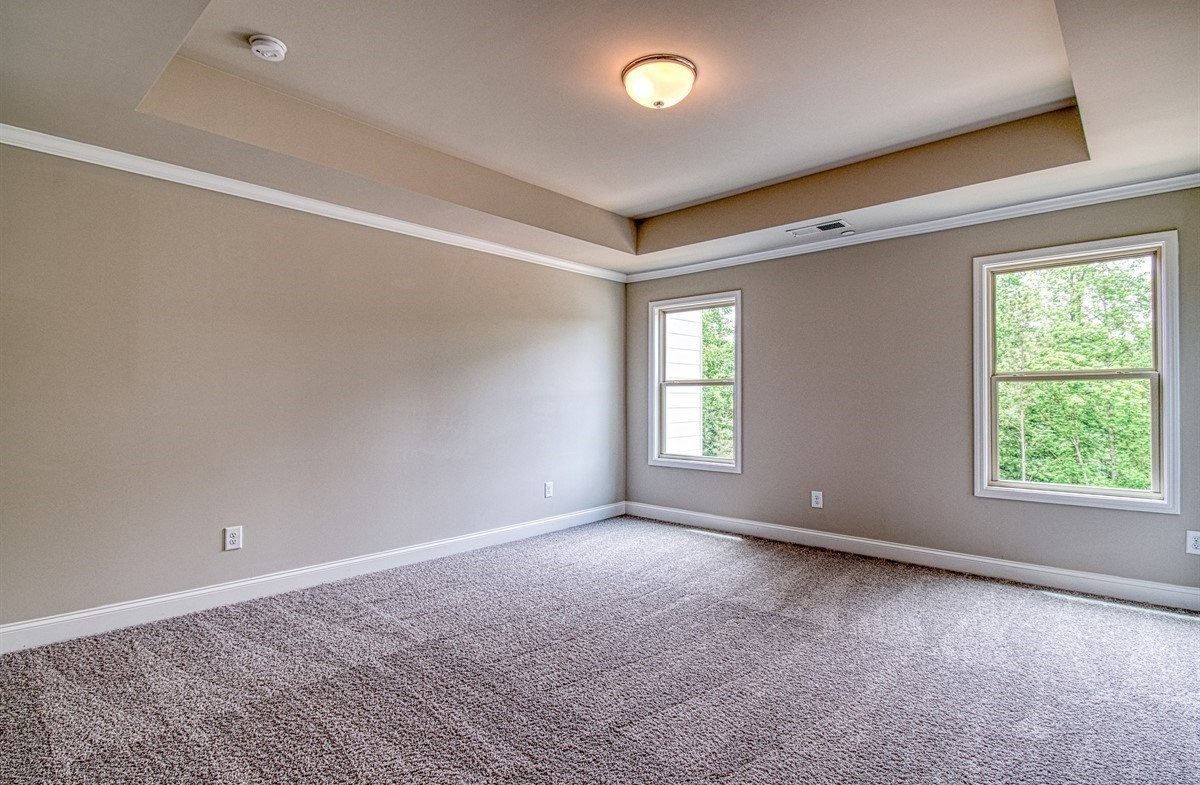 Lexington quick move-in Master Bedroom with tray ceilings
