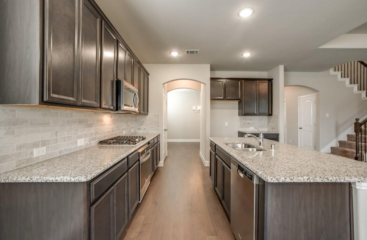 Avalon quick move-in kitchen includes granite countertops