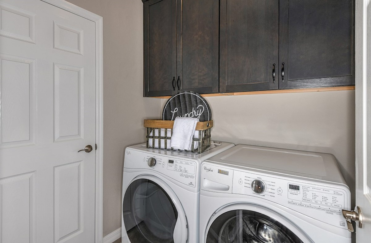 Kemerton Place Siesta Key Full laundry room on second floor
