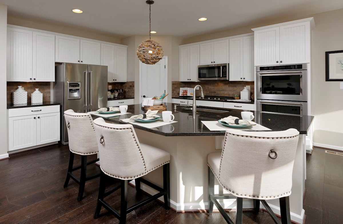 Bishop's Landing Georgetown Kitchen featuring stainless steel appliances