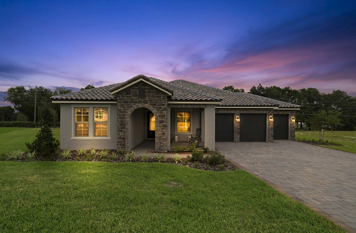 Macarthur II Elevation Tuscan M quick move-in