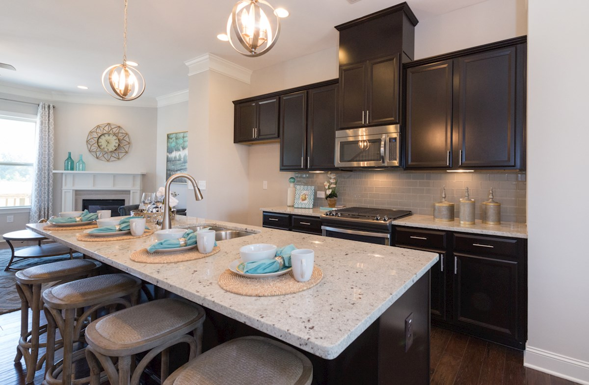 Peachtree Creek Township Ashland Enjoy casual dining on granite kitchen island