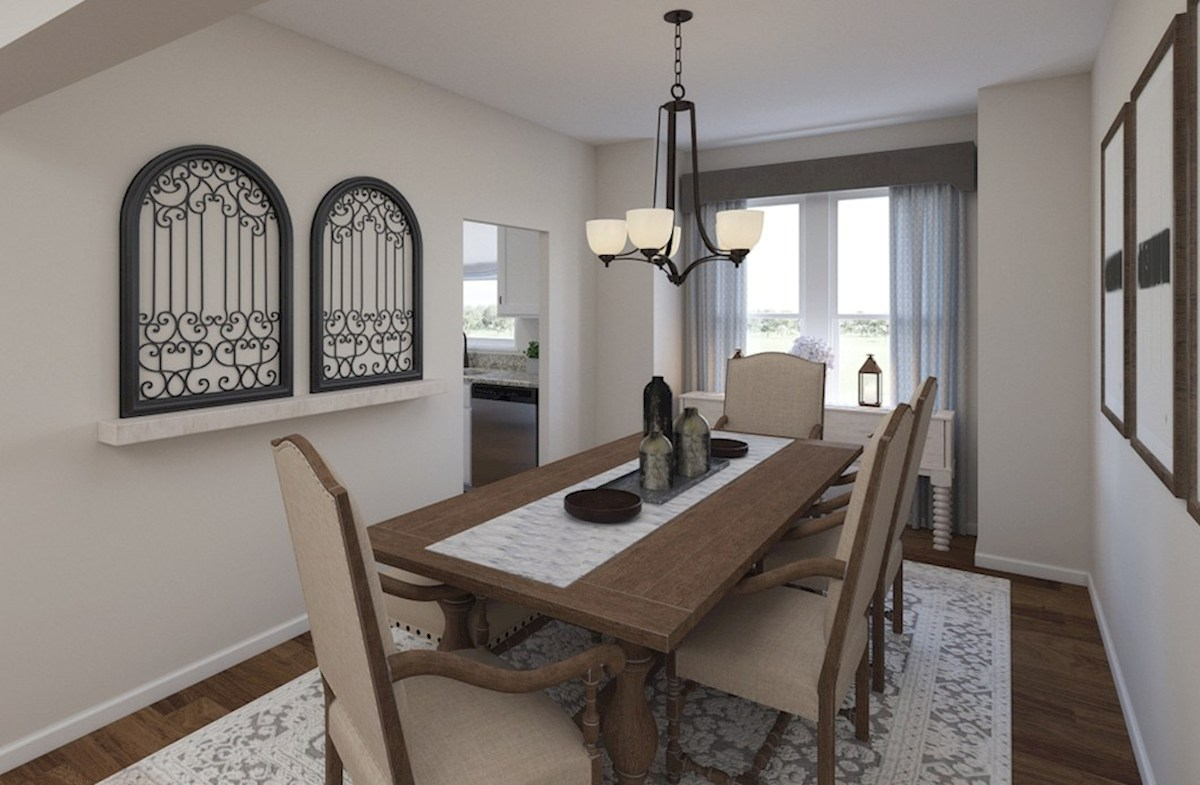 Gatherings® at Indian Lake Wiltshire formal dining room