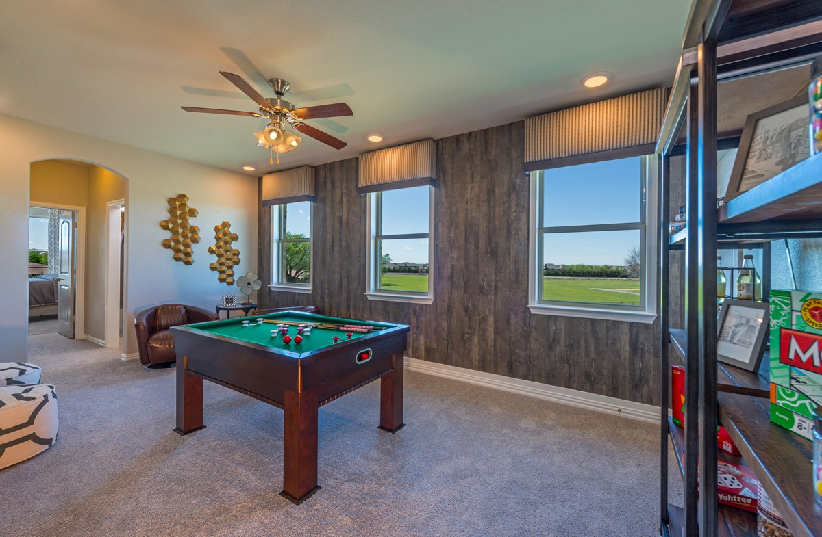 Glen View Trinity Trinity upstairs open game room
