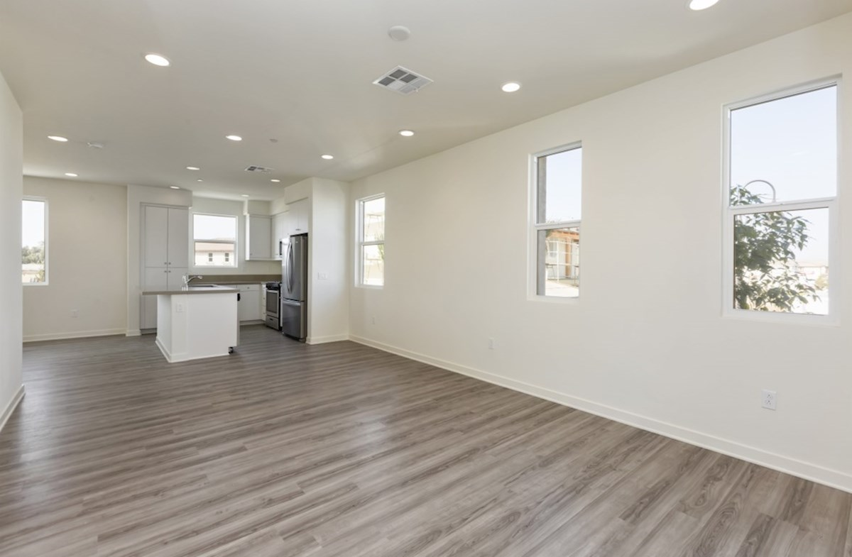 Violet quick move-in A spacious great room is the perfect space for family bonding
