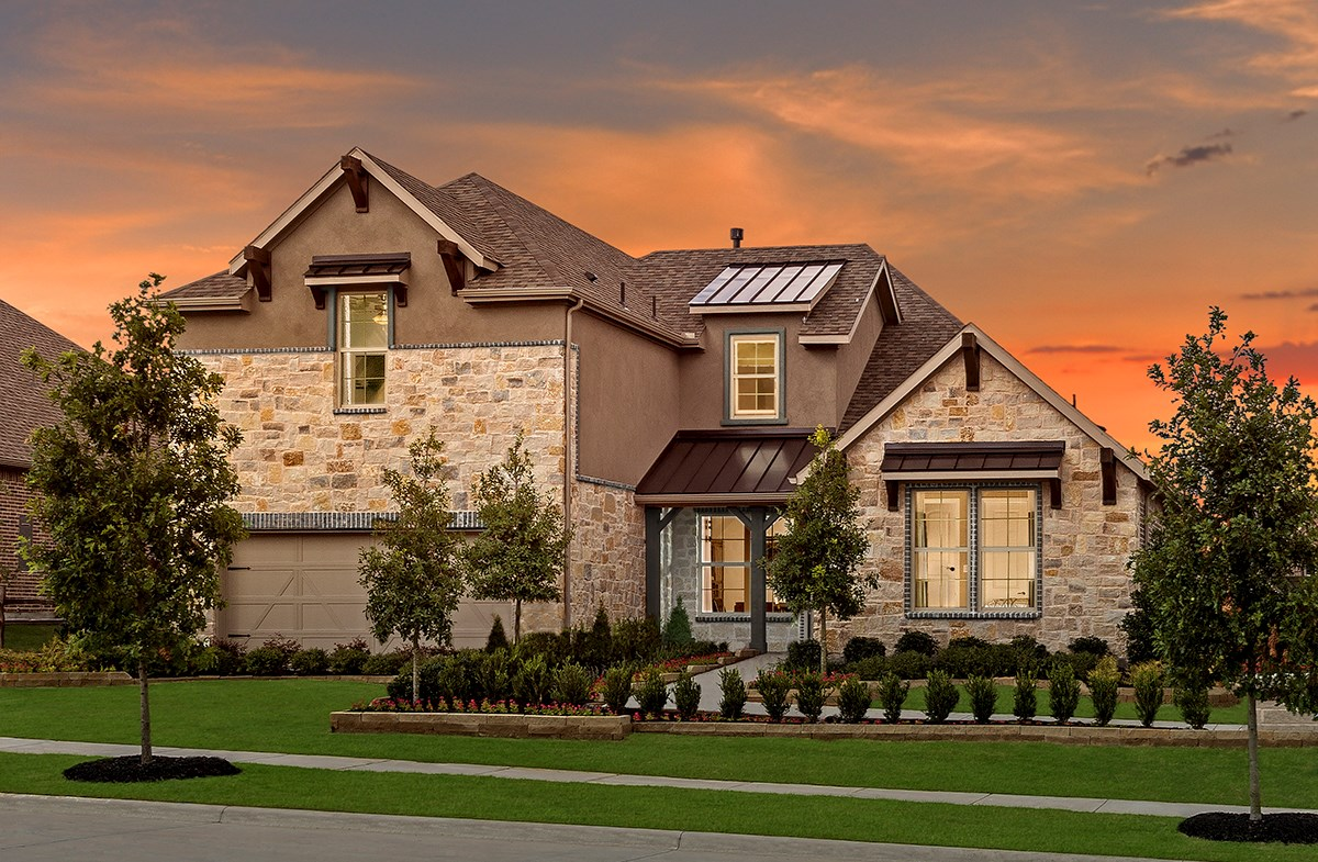 Kerrville model home