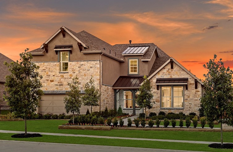 Kerrville model home
