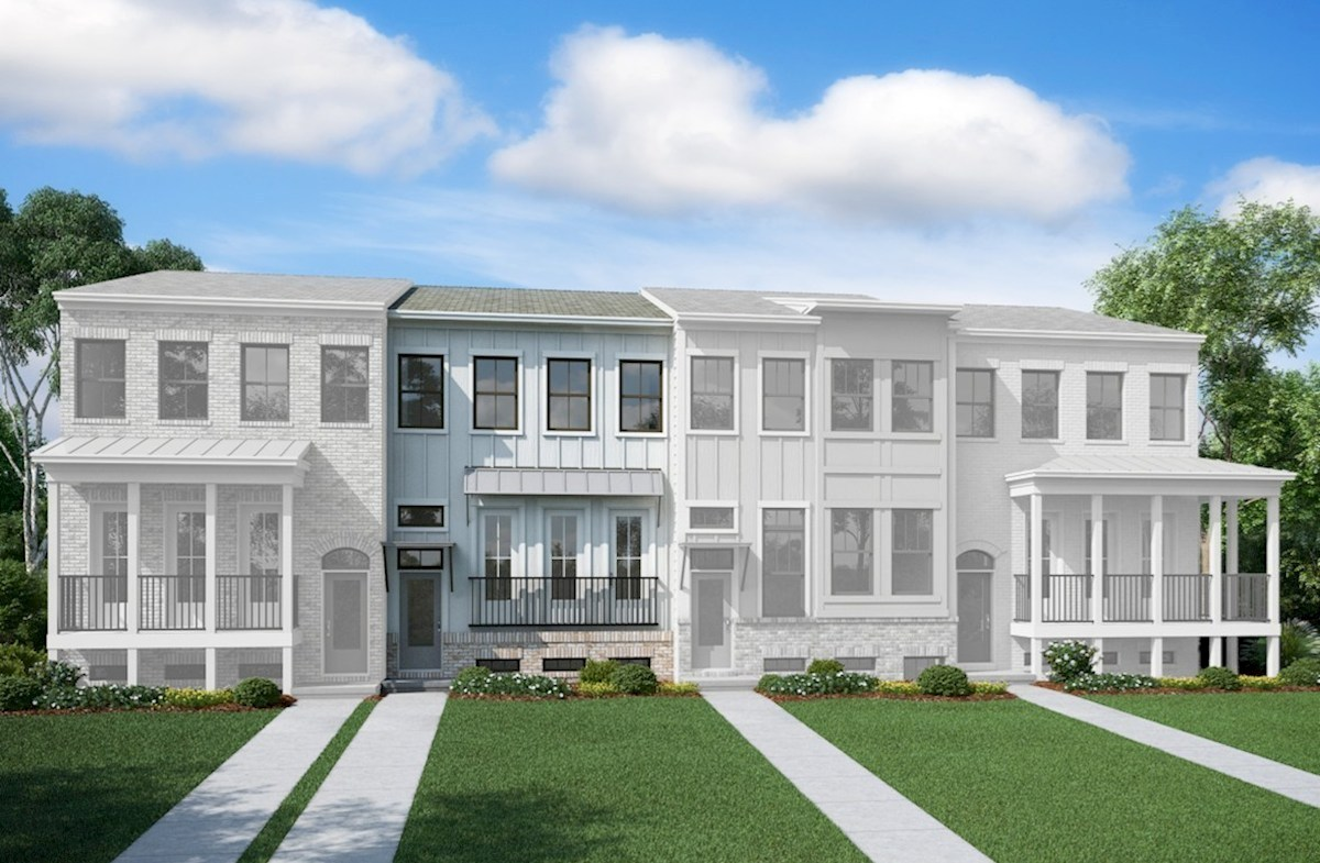 Piedmont II Elevation Urban Lifestyle A quick move-in