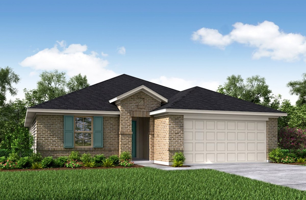 Brook Elevation Traditional A